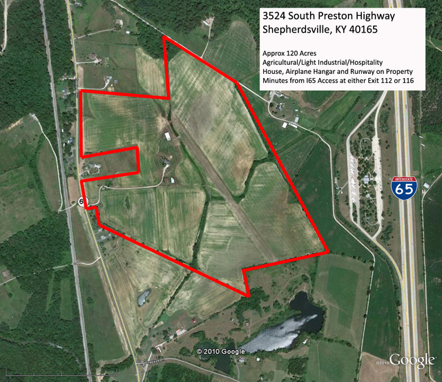 120 Acres On Highway 61 - Property Outline 2