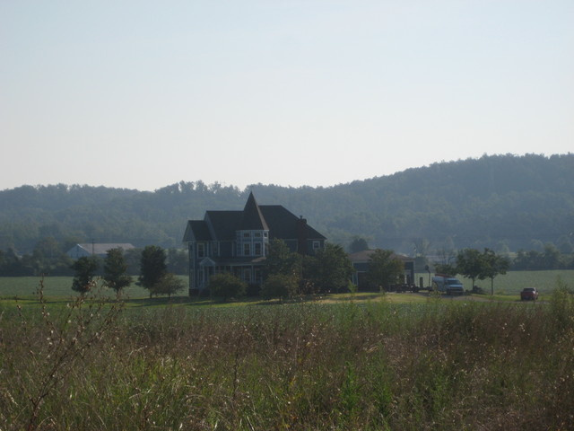 120 Acres On Highway 61 - Distant View of House